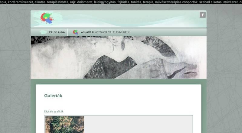 Pálos Anna képzőművész honlapja