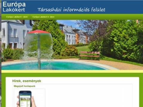 Társasházi információs felület ( alap verzió )